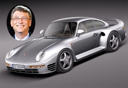 Bill Gate's Porsche 959 Coupe