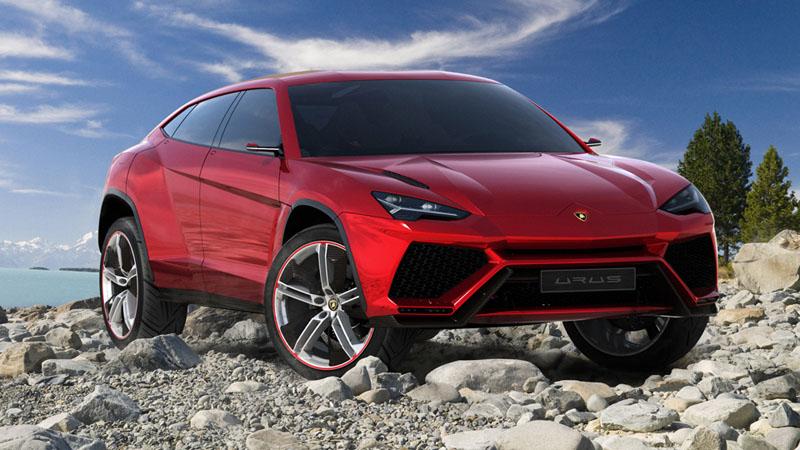 Lamborghini Urus Concept Leaked Image
