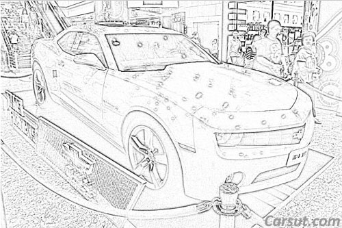 Chevrolet Camaro Drawings