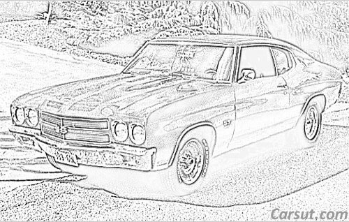 Chevrolet SS drawings