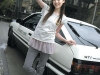 Toyota AE86 girl