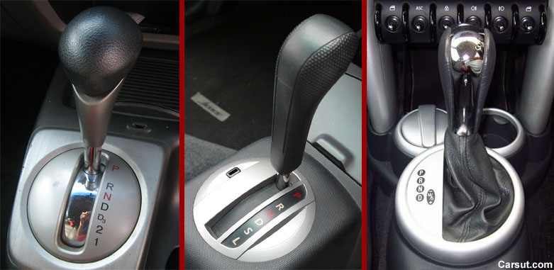 Automatic gear selector