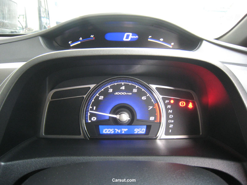 Honda Civic meter