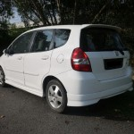 Honda Jazz rear view