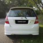 Honda Fit rear view