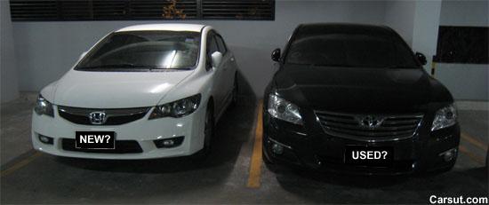 Honda Civic and Toyota Camry