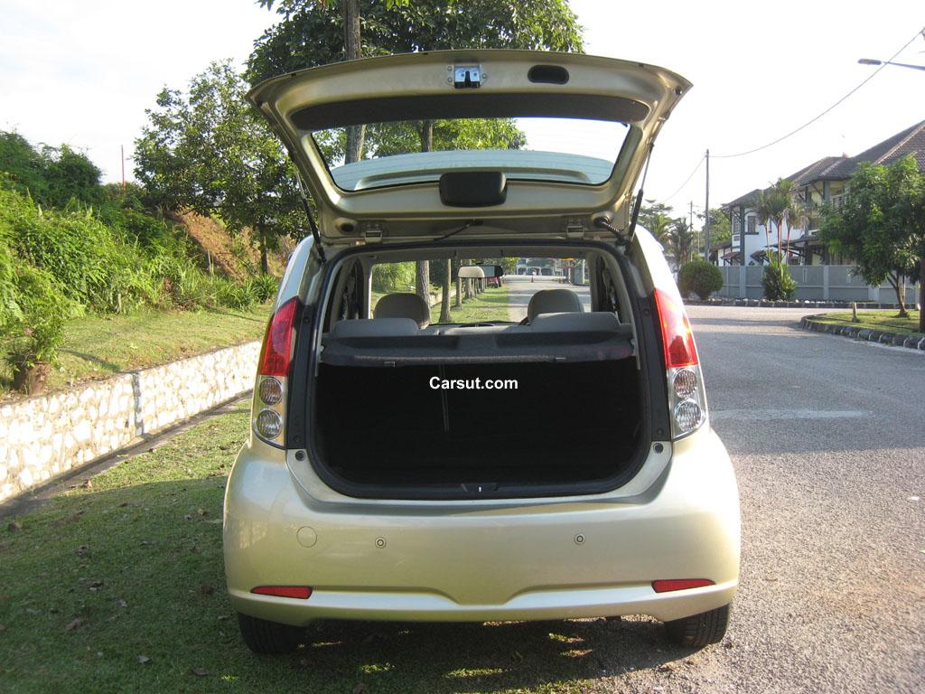 Perodua Myvi Boot