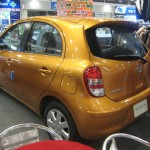 Nissan March side view
