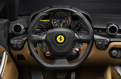 Ferrari F12 Berlinetta interior
