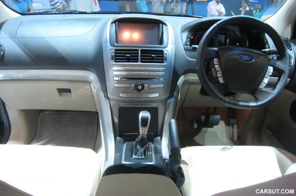 Ford Territory interior