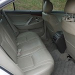 Toyota Camry rear seat