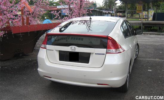 Honda Insight rear view