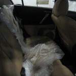 Mazda3 rear seat