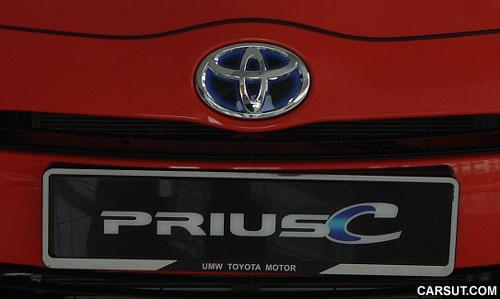 Toyota Prius C logo