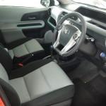 Toyota Prius C interior