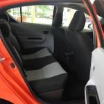 Toyota Prius C back seat