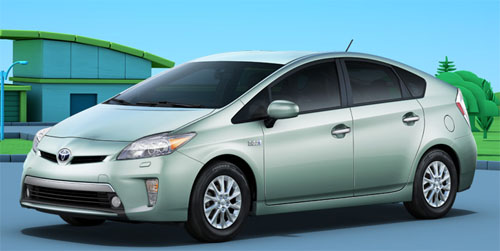 2012 Toyota Prius hybrid plug-in
