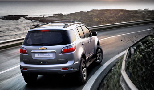 Chevrolet Trailblazer rear view