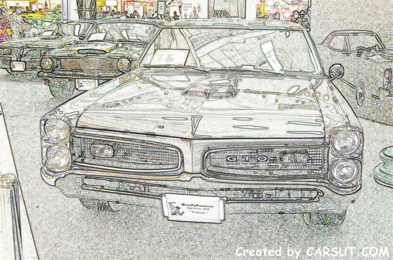 muscle car artwork