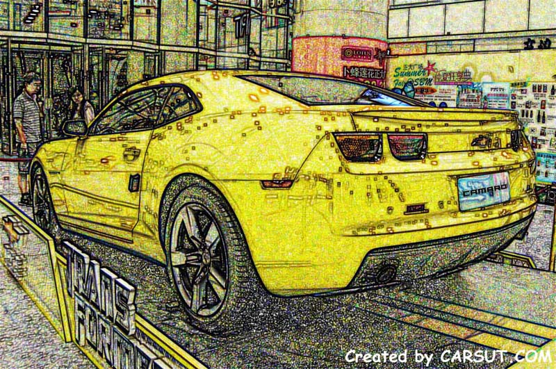 Chevrolet Camaro artwork