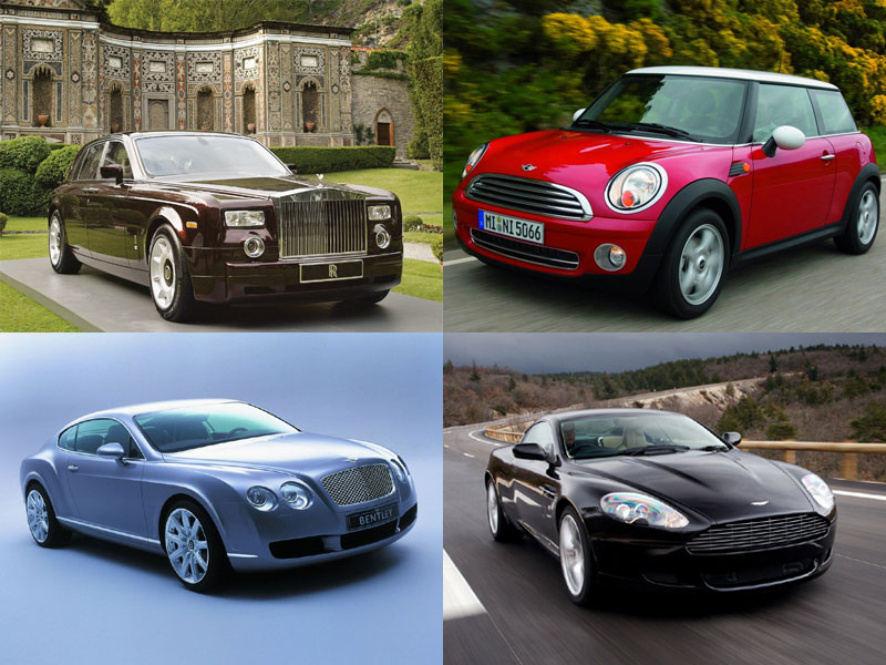 British Car Manufacturers