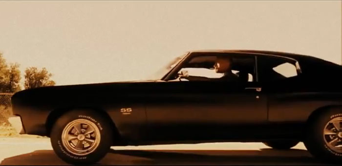 Chevrolet SS in Fast and Furious six