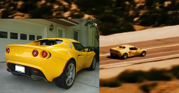 Lotus Elise in fast and the furious