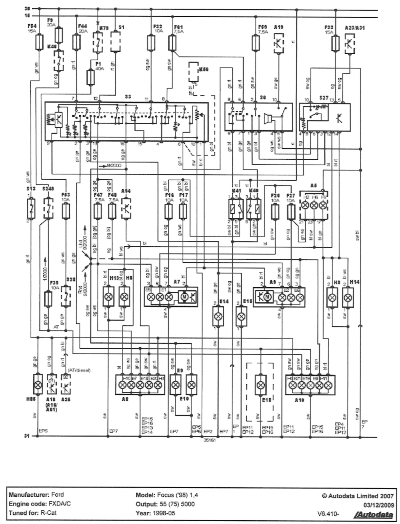 Ford Wiring Schematic Diagram Home Wire 2001 F 150 Free Diagrams 1997 Focus