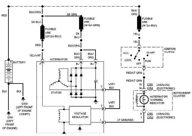 ford taurus wiring diagrams system wiring diagram 12 volt system wiring diagram \u2022 wiring Alternator Wiring Diagram at soozxer.org