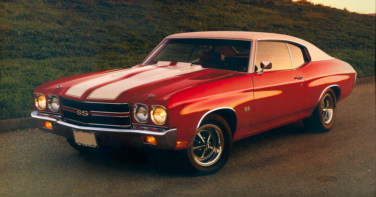 Muscle car wallpaper chevelle
