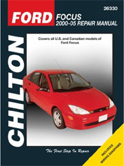 Ford Focus repair manual Chilton