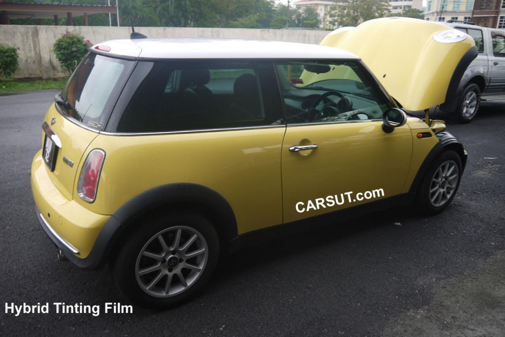 hybrid car tinting film