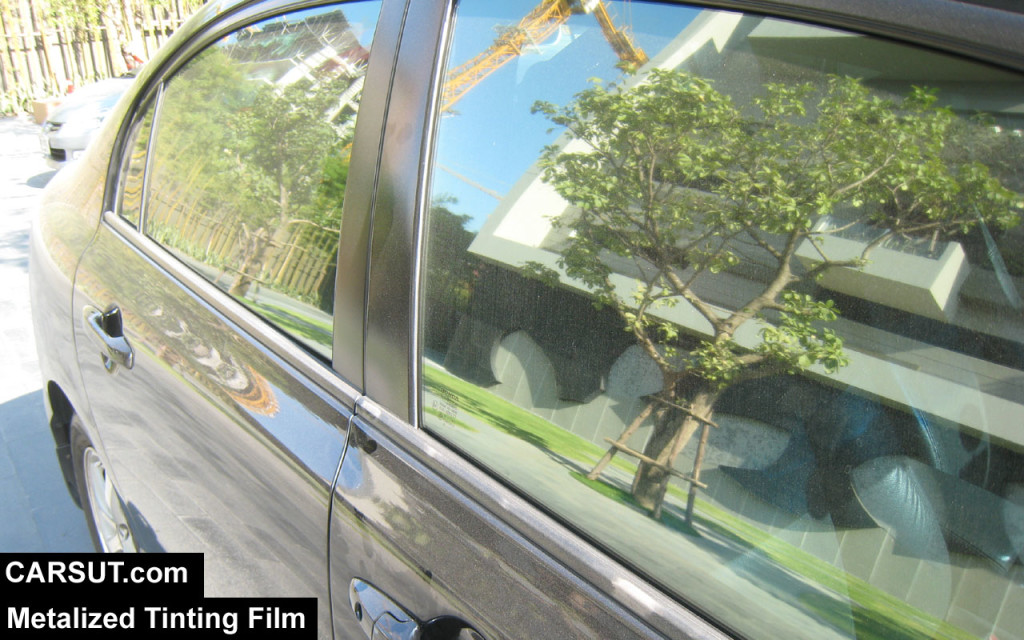 Metalized tinting Film