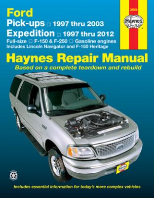 Free ford f150 repair manual online pdf download carsut ford pick ups 1997 thru 2003 haynes repair manual fandeluxe