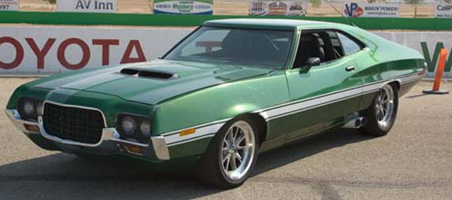 Ford Grand Torino Fast and Furious