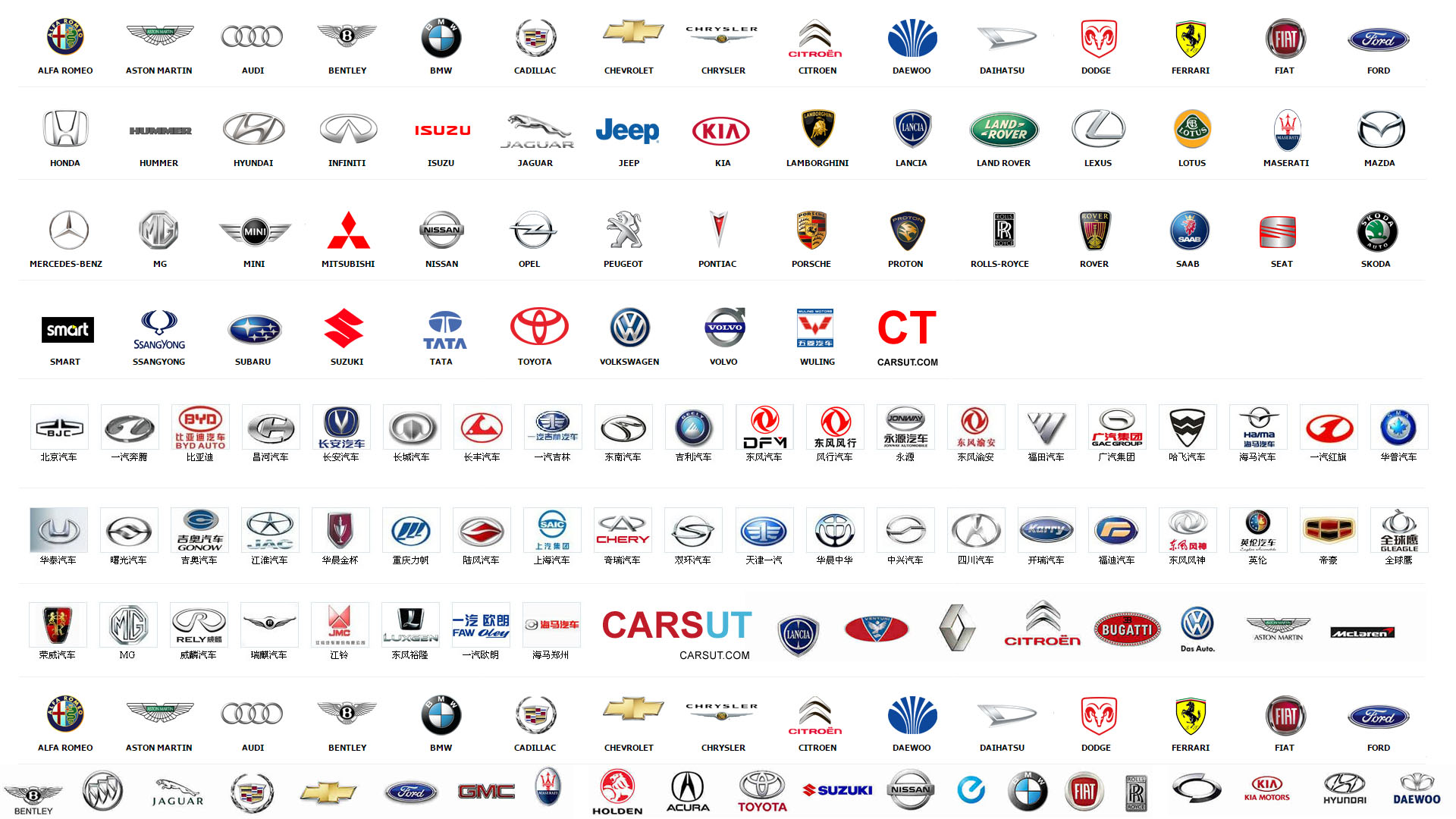 All Car Brands >> Car Company Logos Carsut Understand Cars And Drive Better