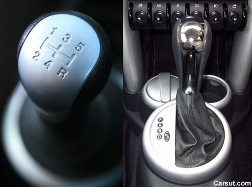 automatic and manual transmission cars