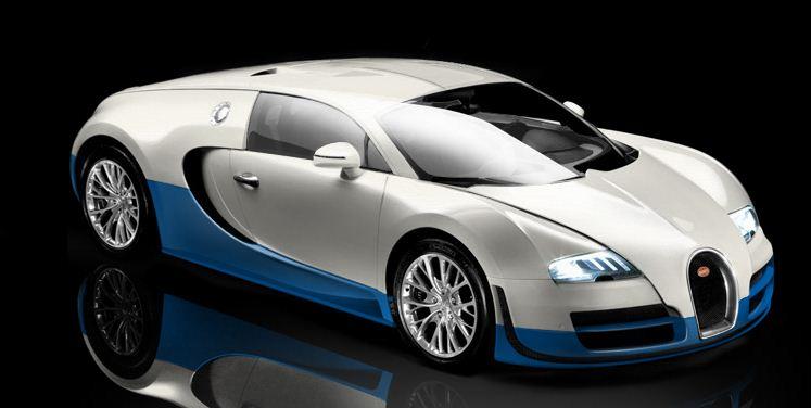 Beau Bugatti Veyron Super Sport
