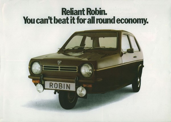 Reliant Robin three wheel
