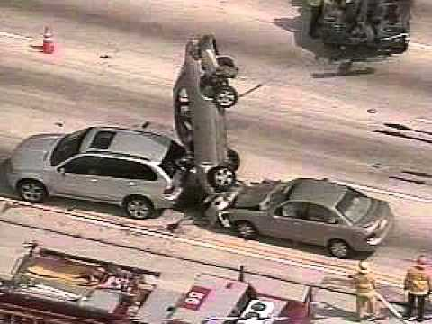 weirdest car accidents