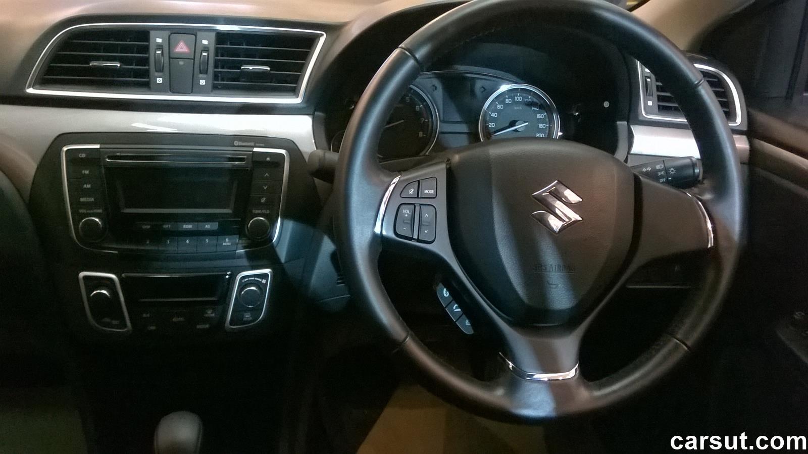 Suzuki Ciaz interior