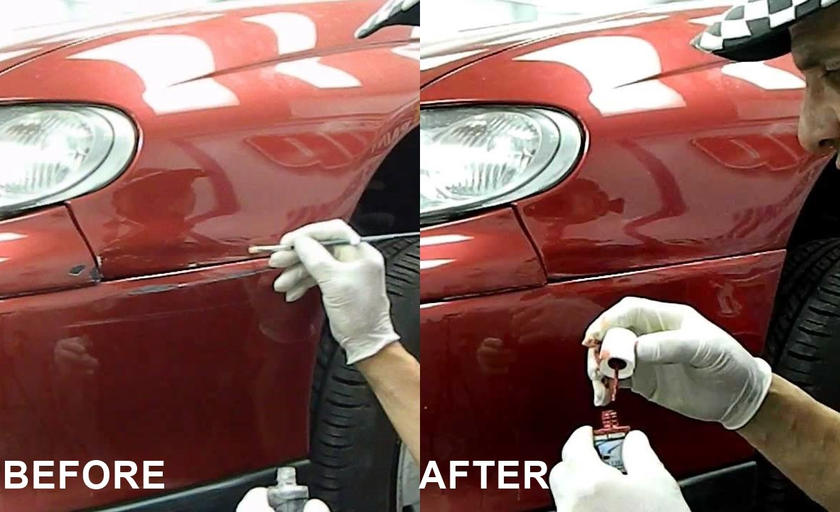 How To Apply Touch Up Paint To Scratches